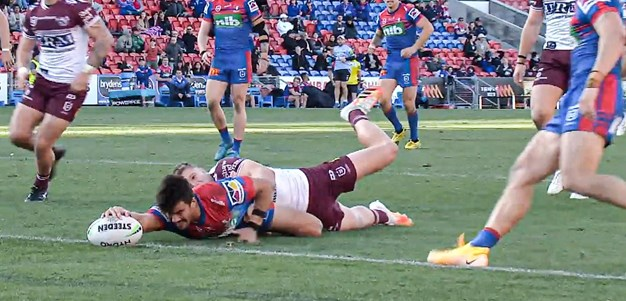Every Angle, Every Call: Enari sinks Manly with game-winning try