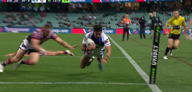 Watch: Tuala and Lee link for points