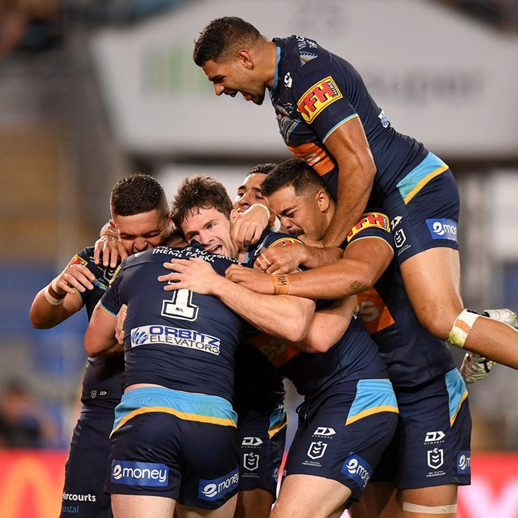 Match Highlights: Tough viewing as Titans run riot