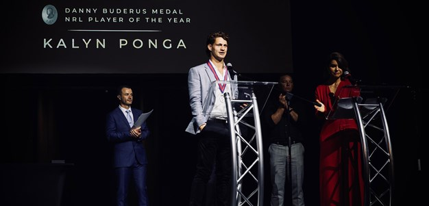 WATCH: Kalyn Ponga your 2020 Danny Buderus medal winner