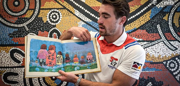 NAIDOC Week: Connor reads 'Respect'