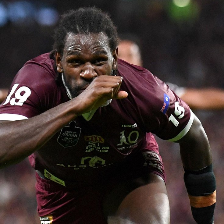 Watch: Edrick scores in Origin debut
