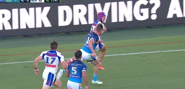 Ponga strikes from long-range