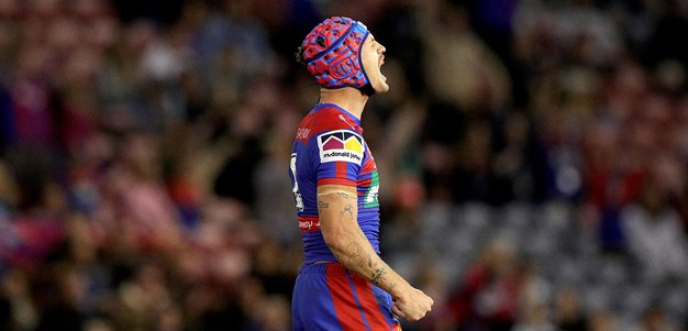 Highlights: Ponga heroics seal win over Sharks