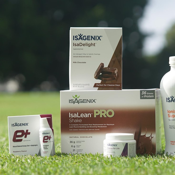 Introducing the Isagenix All-Rounder Pack