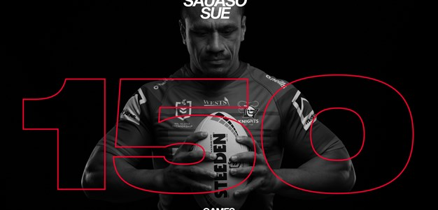 Sauaso Sue's journey to 150 NRL games