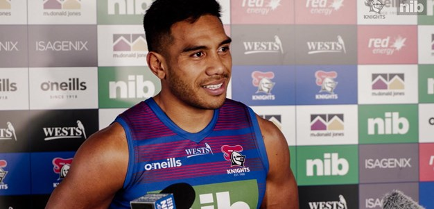 Hunt: Back from injury, playing his role and rep dreams