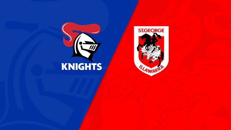 NRL Trials: Knights v Dragons
