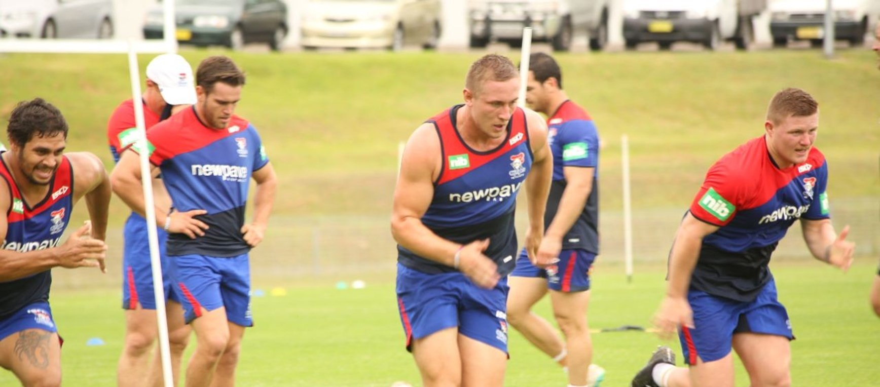 Gallery: Knights return to training
