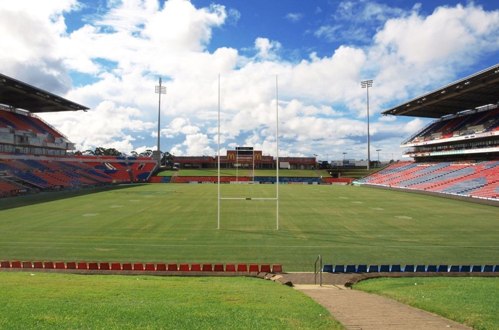 Hunter Stadium is set to host the Trans-Tasman Test in 2016.