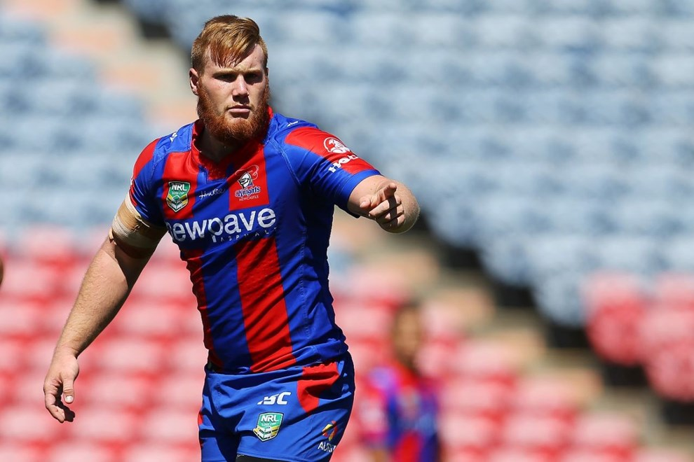 Competition - NYC Premiership Round - Round 03 Teams - Newcastle Knights V Canberra Raiders - 19th of March 2016 Venue - Hunter Stadium, Broadmeadow, Newcastle NSW Photographer - Paul Barkley