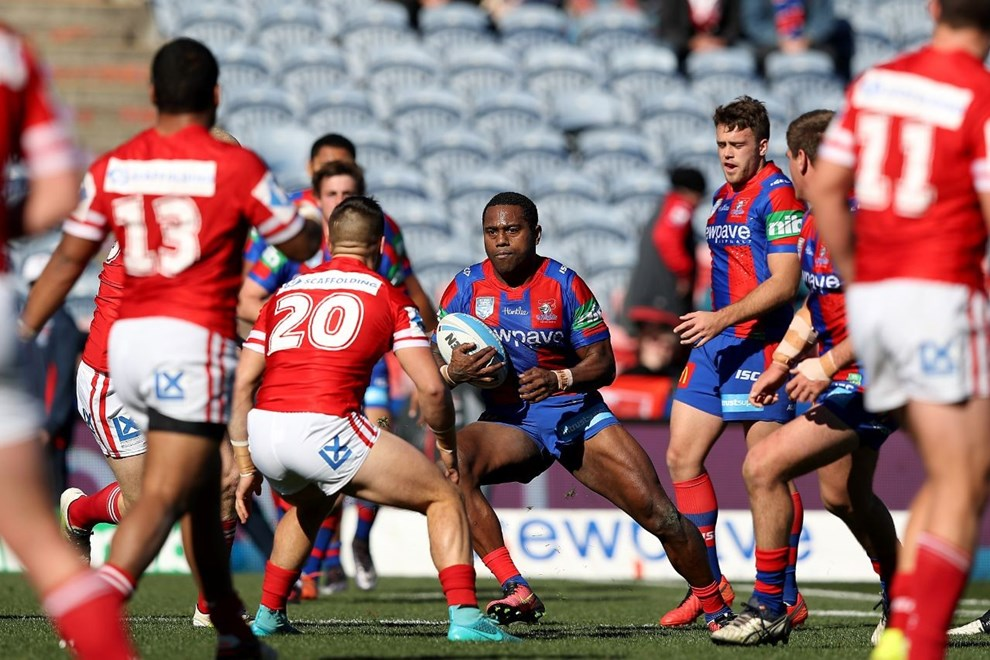 Competition - Intrust Cup - Newcastle Knights v Illawarra Cutters - Saturday 24 June 2016, Hunter Stadium Broadmeadow NSW - Photographer Shane Myers © nrlphotos.com