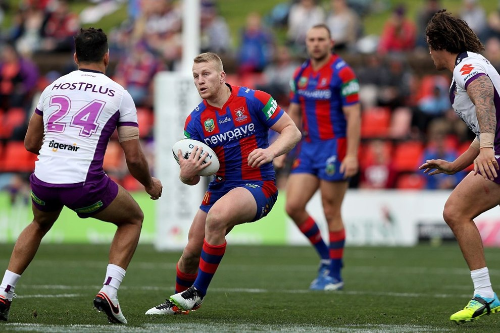 NRL Premiership Round 19 - Newcastle Knights v Melbourne Storm - Sunday 17 July 2016, Hunter Stadium Broadmeadow NSW - Photographer Shane Myers © nrlphotos.com