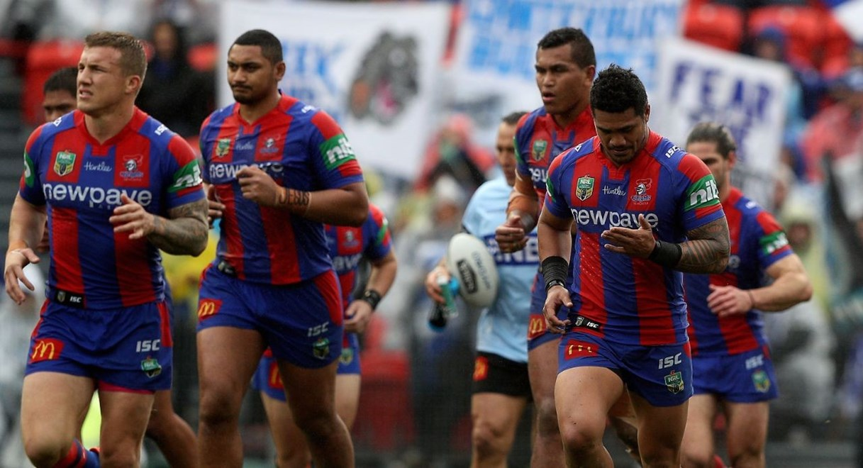 NRL Premiership - Round 22, Newcastle Knights v Canterbury Bankstown Bulldogs - Saturday 6 August 2016, Hunter Stadium Broadmeadow NSW - Photographer Shane Myers © nrlphotos.com