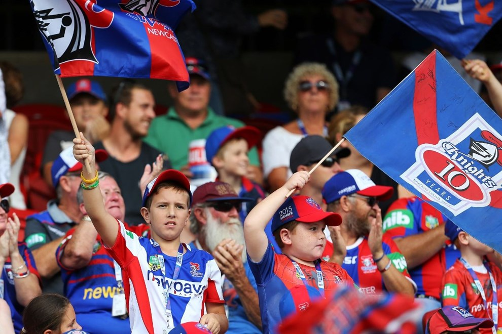 Competition - NRL Premiership Round - Round 03 Teams - Newcastle Knights V Canberra Raiders - 19th of March 2016 Venue - Hunter Stadium, Broadmeadow, Newcastle NSW Photographer - Paul Barkley