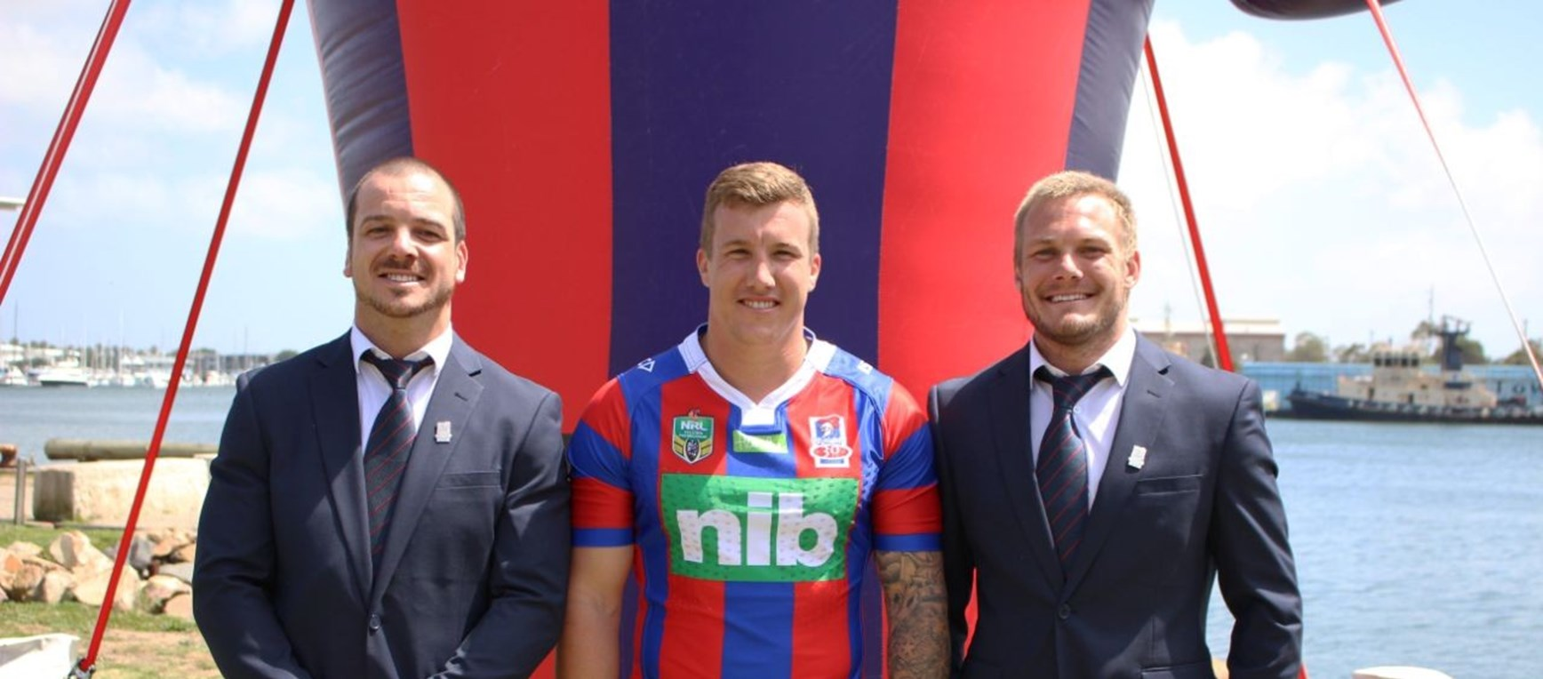 Gallery: Knights celebrate nib partnership