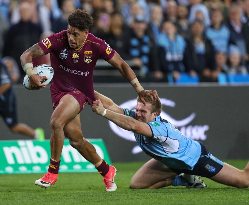 Competition - State of Origin II. Round - Representative Round. Teams - New South Wales Blues v Queensland Maroons. Date - 21st of June 2017. Venue - ANZ