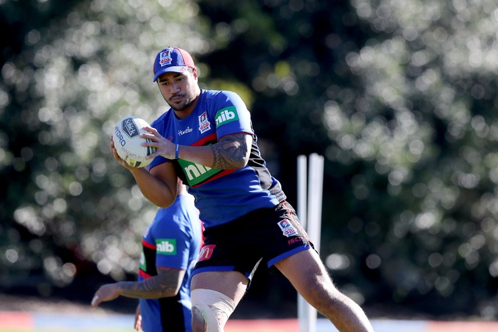 Name - NRL Newcastle Knights Training